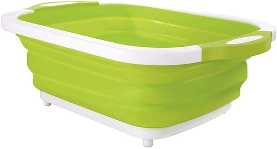 le seau /à glace ou l/évier vert le m/énage le bac /à linge le panier d/égouttoir MQFORU Planche /à d/écouper multifonction 4 en 1 pliable pour la maison