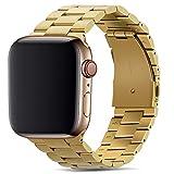 Tasikar Armband Kompatibel mit Apple Watch Armband 38mm 40mm Prämie Edelstahl Metall Ersatz Armband...
