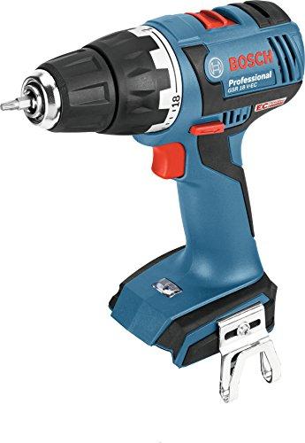 Bosch Professional 06019D6103 GSR EC Solo 06019D6103 accu-schroefboormachine, 18 V, met accu-oplader in L-Boxx Clic & Go, 650 W, zwart, blauw