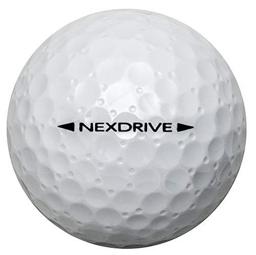 MIZUNO(ミズノ)ゴルフボールNEXDRIVEネクスドライブ1ダース(12個入り)2ピースホワイト5NJBM32810