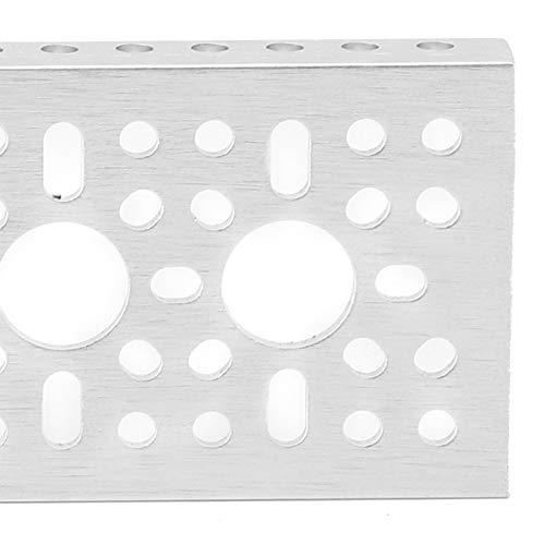 Kit de bricolaje robótico de canal en U de la serie 3120 que maximiza la capacidad de carga y proporciona protección para Gobilda/TETRIX/FTC/FRC/FIRST/WRO