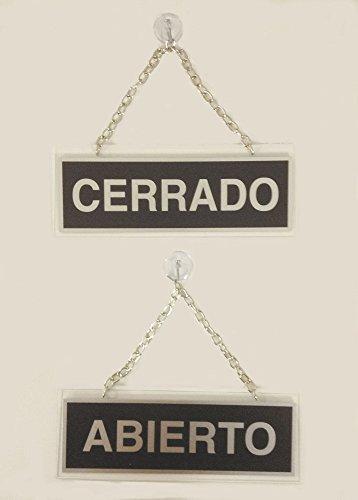 Liderpapel 111 - Letrero metálico serigrafiado abierto