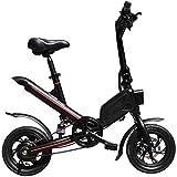 Bicicletas Eléctricas, Fast Bicicletas eléctricas for adultos for adultos con 12' de absorción de choques neumáticos Kick Vespa eléctrica plegable con asiento 25 kilometros Máxima Velocidad / H 30KM C