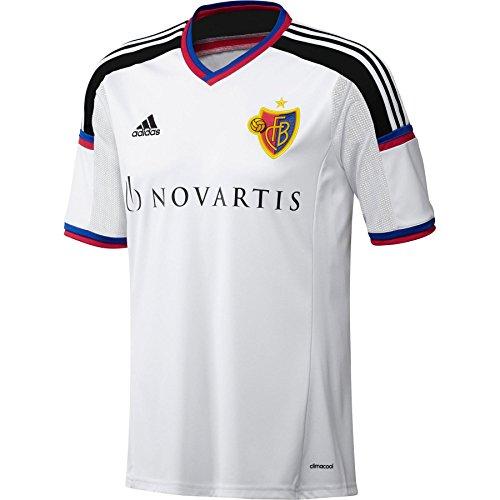adidas Performance FC Basel - Camiseta de fútbol Infantil - Blanco - 176