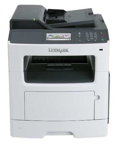 Lexmark MX417de Monochrome All-in One Laser Printer, Scan, Copy, Network Ready, Duplex Printing and Professional Features