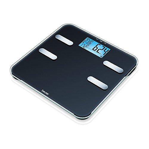 bilancia pesapersone diagnostica Beurer BF 185 Bilancia Diagnostica con Ampio Display LCD Retroilluminato