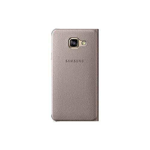 Samsung Flip Wallet Schutzhülle (geeignet für Galaxy A3 (2016)) gold