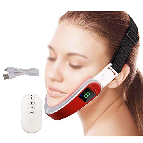 HEWYHAT Face Lifting Machine, Double Chin Reducer, Facial Intense Lifting Slim Strap, Skin Care Chin...