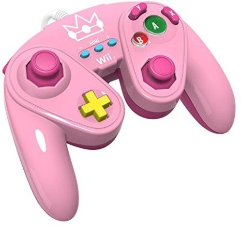 PDP Wired Fight Pad for Wii U - Peach