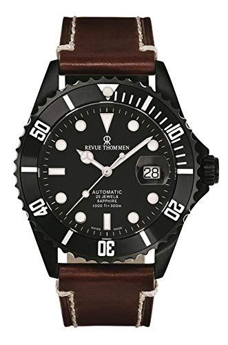 Revue Thommen Reloj de buceo automático XL Diver para hombre, analógico, automático, acero inoxidable, 17571.2577