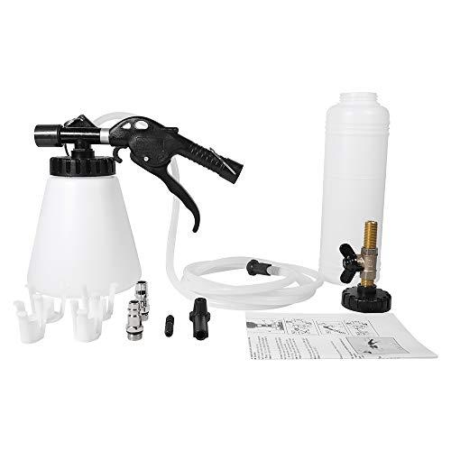 QUNNIE - Dispositivo de Aire comprimido para Purga de Frenos, Purga de Frenos de Aire comprimido, con Botella de Recarga