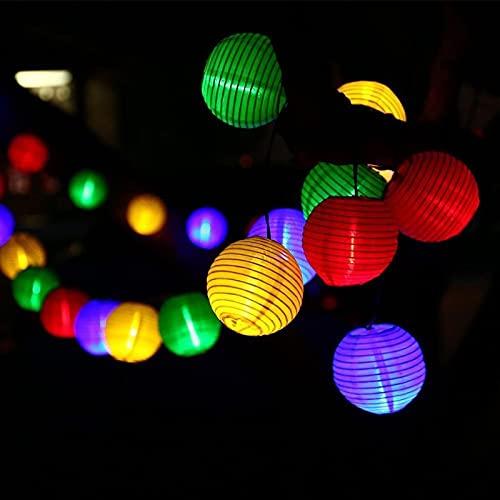 Solar Lichterkette Lampion Außen 3.5...