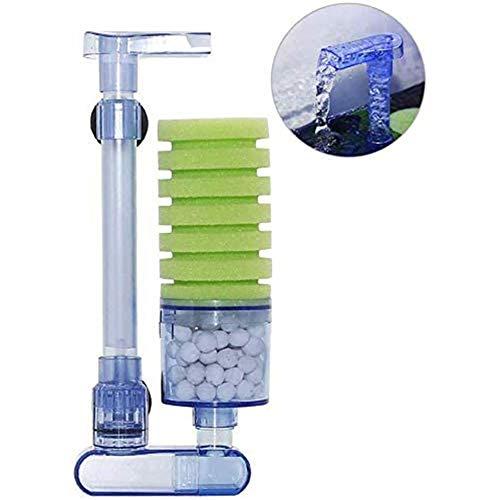 Cestbon Aquarienfilter Zubehör für Aquarienfilter, Quiet biOrb Filter für kleine und große Aquarien,Blau