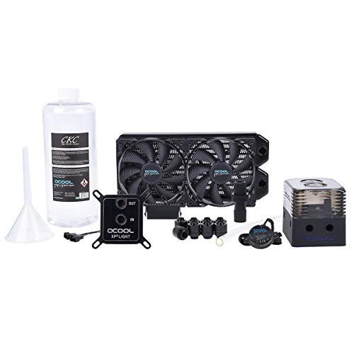 ALPHACOOL Ventilador CPU Ref. LIQUIDA EISSTURM Gaming 240 Kit DIY/3M TUBO/1L REFRIGERANTE/RADIADOR Cobre 1014157