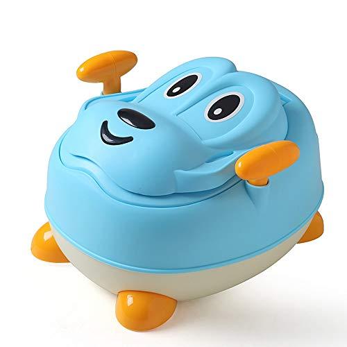 LOHOX Abattant Toilette Siège de Toilettes Trainer Pot WC Dossier Confortable Pot bébé Amovible pour Chaise Bébé Enfants