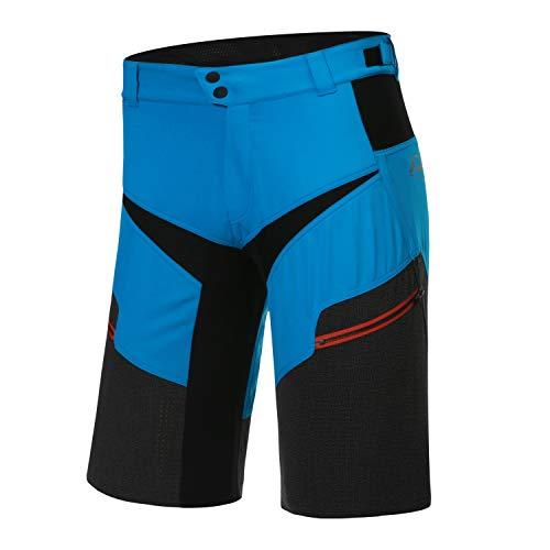 Protective P-Life is Wild 2021 - Pantalones cortos de ciclismo para hombre (talla XL), color azul