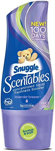 Snuggle Scentables Concentrated Liquid Laundry Freshness Booster, Lavender Breeze, 10.4 Fluid Ounces