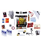 GetReadyNow | Zombie Survival Kit | Heavy Duty Clear Waterproof Dry Bag with...