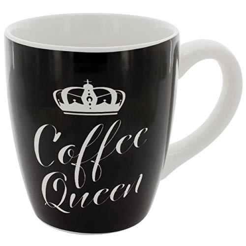 MIK Funshopping Großer Becher Kaffeebecher XXL mit verschiedenen Motiven aus Keramik (Coffee Queen)