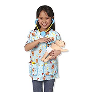 melissa & doug pediatric nurse role play costume set - 41kJAlhKCQL - Melissa & Doug Pediatric Nurse Role Play Costume Set