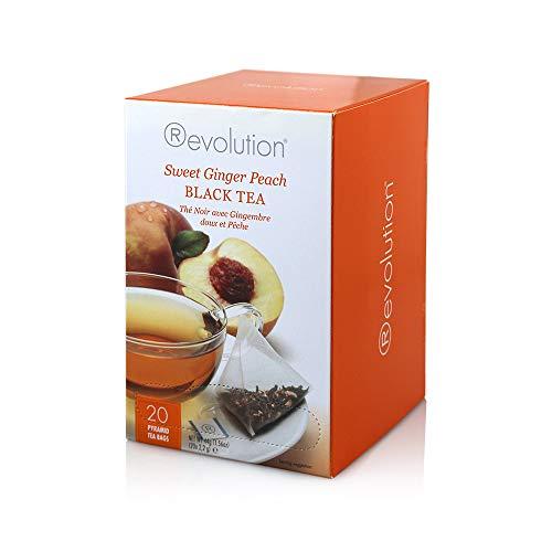 Revolution Tee Pyramiden Sweet Ginger Peach Black Tea 20x2,2g