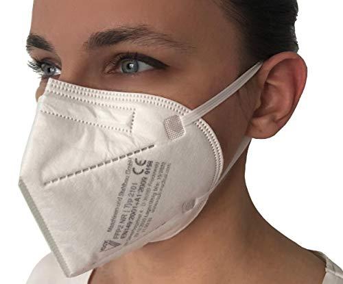 faciemF, 10 Stck. FFP2 Atemschutzmaske | Masken für Mund – und Nasenschutz | DEKRA (0158) geprüft |Made in Germany | sofort ab Lager lieferbar (10) - 5
