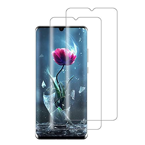 XSWO 2 Pezzi Vetro Temperato per Huawei P30 PRO, Pellicola Protettiva Vetro Huawei P30 PRO [3D Copertura Completa] [Alta Sensibilità] [Anti-Graffi] [Senza Bolle] Protezione Schermo Huawei P30 PRO