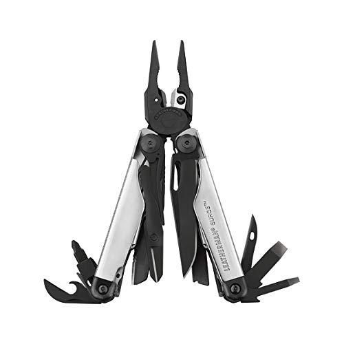 Leatherman 832461 SURGE Outil multifonction Noir/Argent