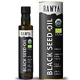 Rawya Black Seed Oil, Organic, Cold Pressed, Glass Bottle, Nigella Sativa Oil, Non-GMO, 8.4 Fl Oz