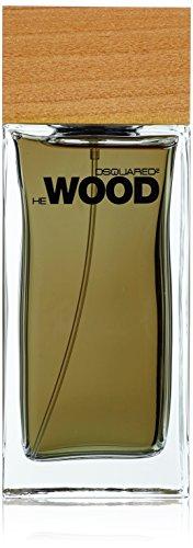 Dsquared He Wood homme/man, Eau de Toilette Vaporisateur, 1er Pack (1 x 150 ml)