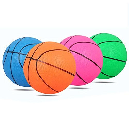 TOYANDONA Aufblasbare Basketball Schwimmkugeln für Kinder und Erwachsene Wasserspiele Schwimmen Spielzeug