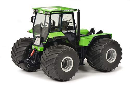 Schuco 450784000 Deutz-Fahr Intrac 6.60, Terra Reifen, Traktor, Modellauto, Maßstab 1:32, grün