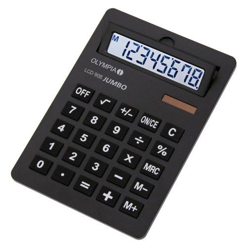Olympia Taschenrechner LCD - 908, schwarz