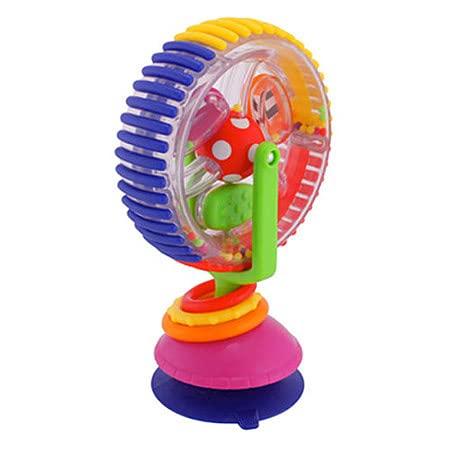 TIANLE Wonder Wheel Activity CenterBaby Hand-Eye Coordination Toy Ferris Wheel