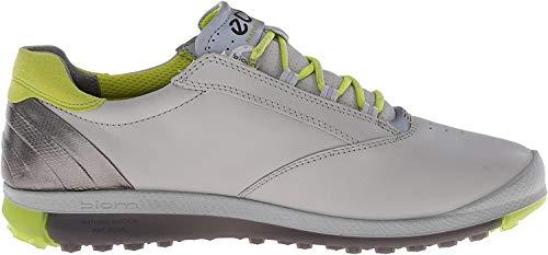 Ecco Womens Golf Biom Hybrid 2 - Zapatos de Golf para Mujer, Color Gris/Amarillo, Talla 41