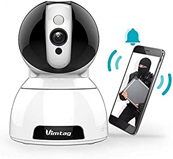 VIMTAG Wireless IP Security Camera with AI Detection