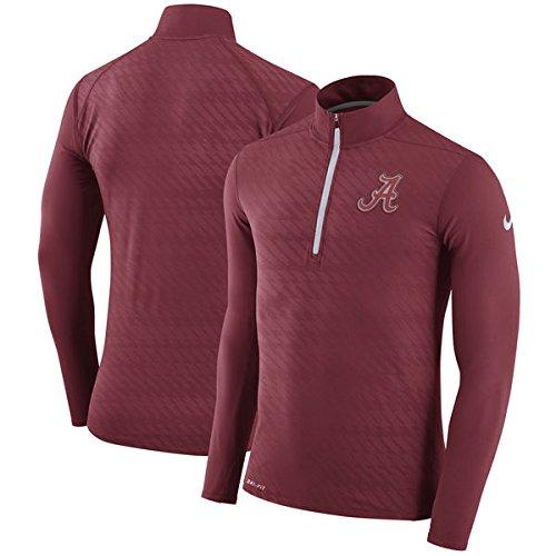 Nike Alabama Crimson Tide Dry Element Half-Zip Performance Jacket (Small)