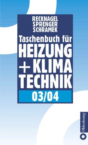 Taschenbuch für Heizung und Klimatechnik 03/04