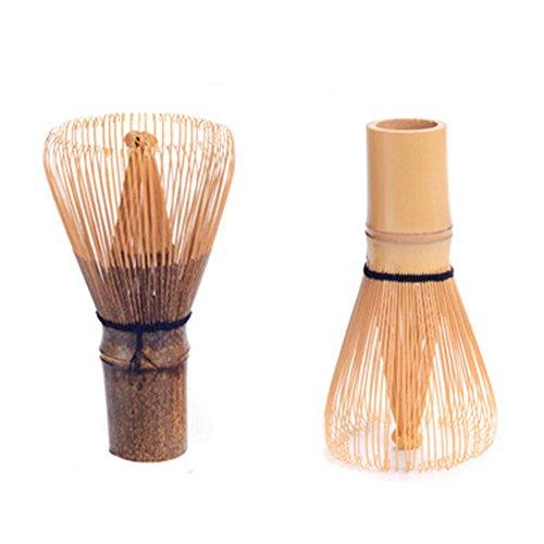 1 cepillo de bambú Matcha para batir té verde japonés, batidor de té matcha para preparar matcha, regalo de Navidad.