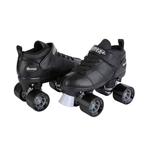 CHICAGO SKATES Bullet Men's Speed Roller Skate-Black Size 1