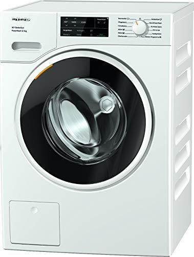 Miele WSG 363 WCS Frontlader Waschmaschine / 9 kg / saubere Wäsche in 49 min. - QuickPowerWash / SingleWash / Miele@home / Watercontrol-System / Hygiene-Option - AllergoWash / 1400 U/min / A+++