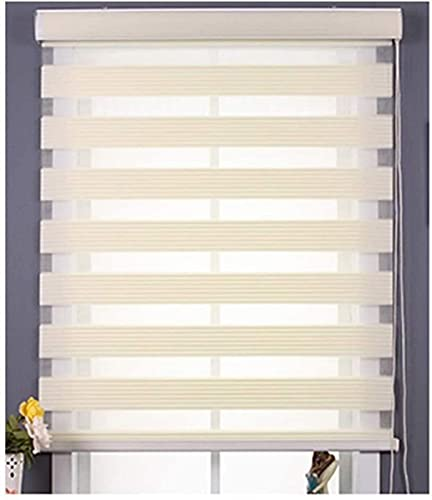 of custom accessories blinds Blind Double Fabric Light Filtering Roller Blind with Cassette Day and Night Blinds Roller Blinds Dual Roller Shades with Install Accessories Blinds Clips
