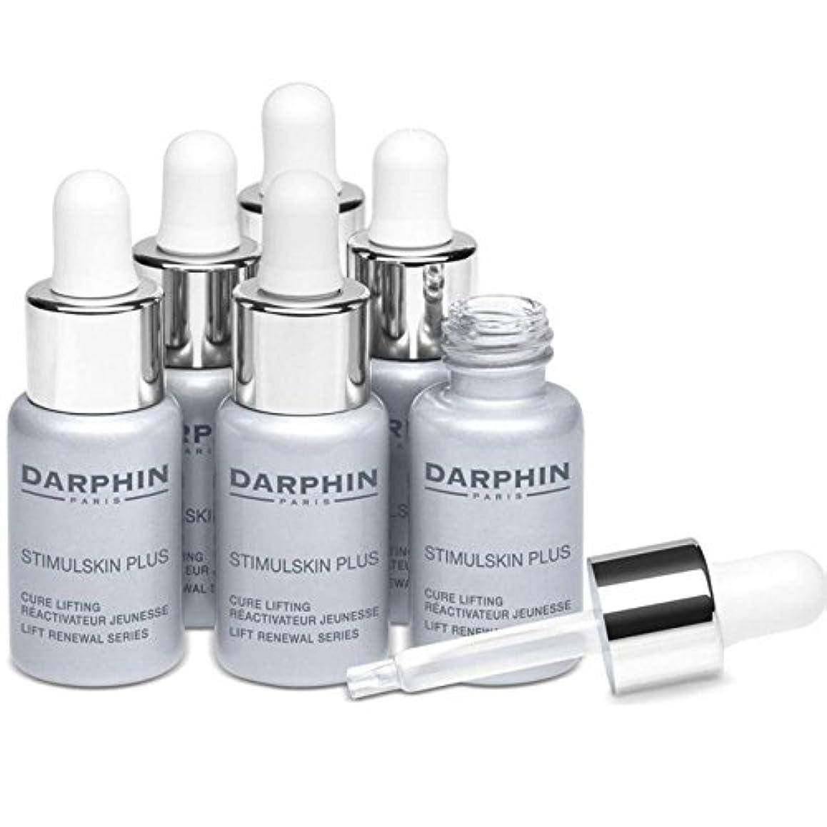 ファイバ単なるビタミンダルファンスティプラスリフトリニューアルシリーズ x4 - Darphin Stimulskin Plus Lift Renewal Series (Pack of 4) [並行輸入品]