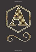 A: Competition Prep Journal Designed for Amateur & Professional Competitors Fill in Blank Monogram Notebook