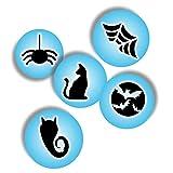 Plantillas para aerógrafo para decoración de uñas, plantillas autoadhesivas para decoración de uñas