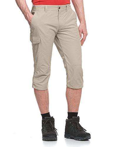 Maier Sports Pantalon 3/4 pour Homme Jens M Gris - Beige