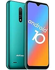 Ulefone Note 8P Smartphone Android 10-4G Dubbel SIM Ontgrendeld Mobiele Telefoon Met 3 in 1 sleuf 5,5 inch Scherm 2GB RAM 16GB ROM 8MP+2MP+5MP Drievoudige Camera's Gezicht Ontgrendelen (Groen)