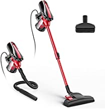Corded Stick Vacuum, 17KPa Powerful Suction D600 Stick Vacuum Lightweight Multifunctional Stick & Handheld Vacuum Cleaner, Ideal for Hard Floor, Pet Hair 33Ft Power Cord