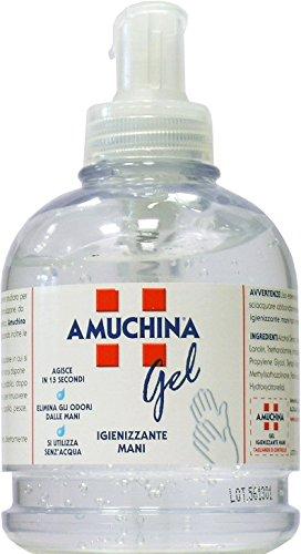 12 x AMUCHINA Gel Igienizzante Mani Con Diffusore 250 ML