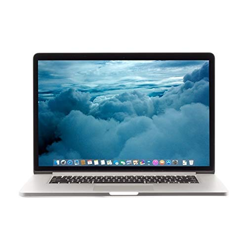 Apple MacBook Pro Mgxa2ll/a 15in - Intel Core i7-4770HQ 2.2GHz, 16GB RAM, 256GB SSD, Intel Iris 5200 Pro Graphics , Retina Display, Mac OS X 10.9.4 - Silver (Renewed)